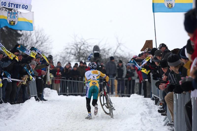 Mistrovství ČR v cyklokrosu 2010, Tábor: Generálka to byla nejen pro Zdeňka, ale také pro jeho fanklub