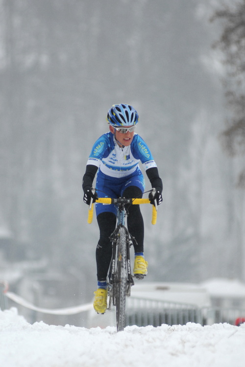Mistrovstv� �R v cyklokrosu 2010, T�bor: Kate�ina Nash
