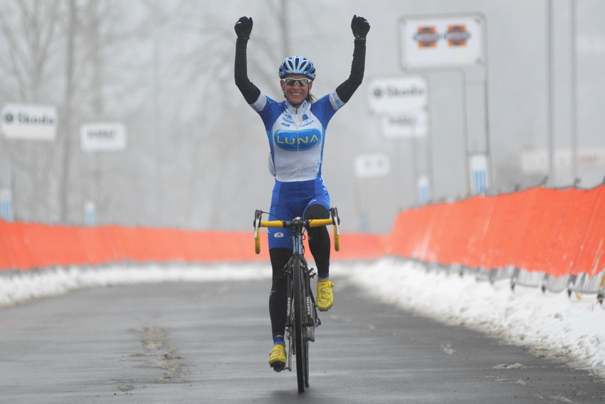 Mistrovství ČR v cyklokrosu 2010, Tábor: Kateřina Nash mistryní republiky