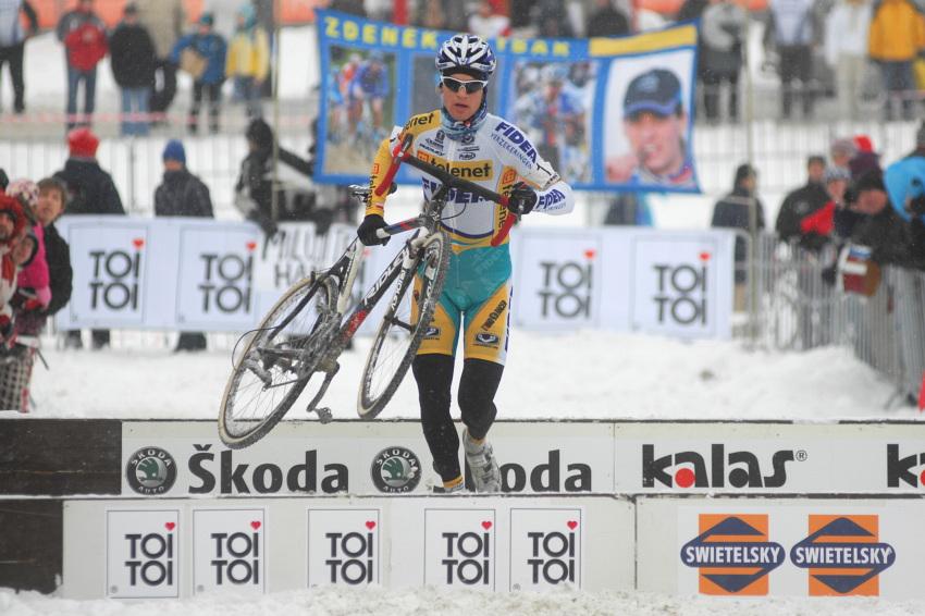 Mistrovství ČR v cyklokrosu 2010, Tábor: Zdeněk Štybar neměl konkurenci