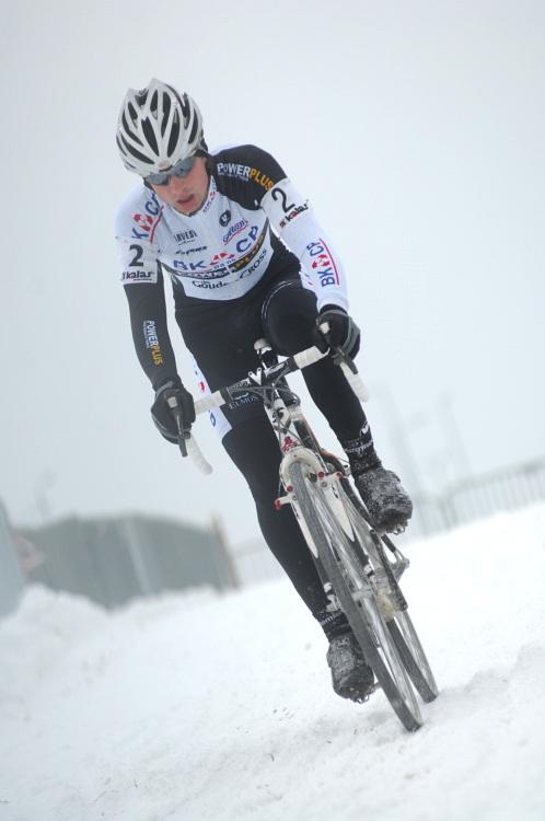 Mistrovství ČR v cyklokrosu 2010, Tábor: Radomír Šimůnek neměl svůj den