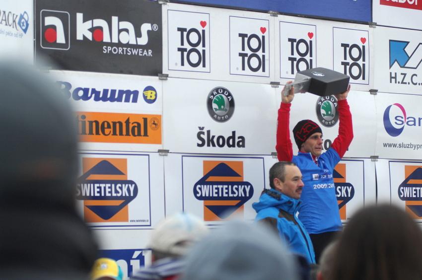 Mistrovství ČR v cyklokrosu 2010, Tábor: Martin Bína celkovým vítězem Toi Toi Cupu
