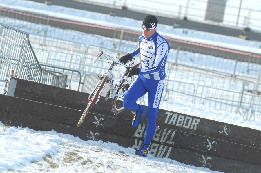 M�R v cyklokrosu 2010 se bl�� - Martin Zl�mal�k