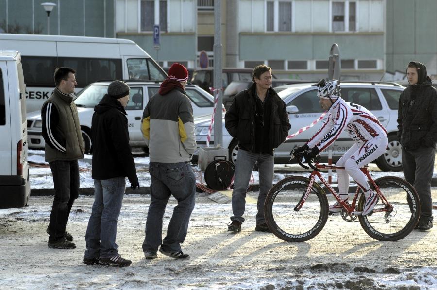 MČR v cyklokrosu 2010 se blíží - Ondřej Lukeš spolupracuje s ČT