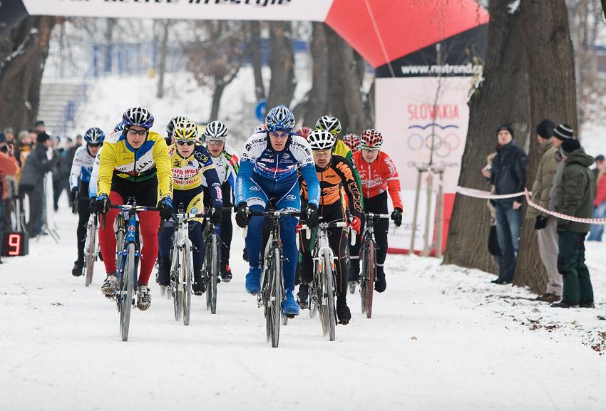 Vánoční cyklokros Praha-Stromovka 2009: odstartováno!