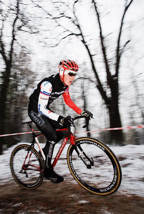 Vánoční cyklokros Praha-Stromovka 2009: Jarda Kulhavý