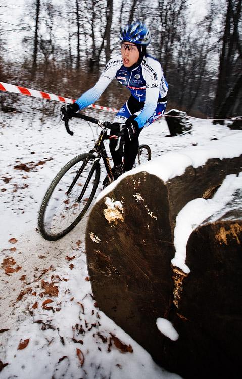 Vánoční cyklokros Praha-Stromovka 2009: Michal Plesník