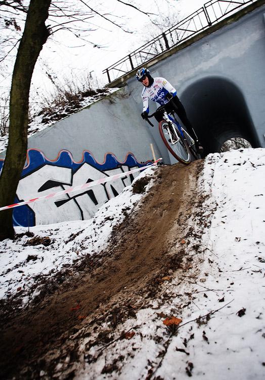 Vánoční cyklokros Praha-Stromovka 2009: Honza Škarnitzl