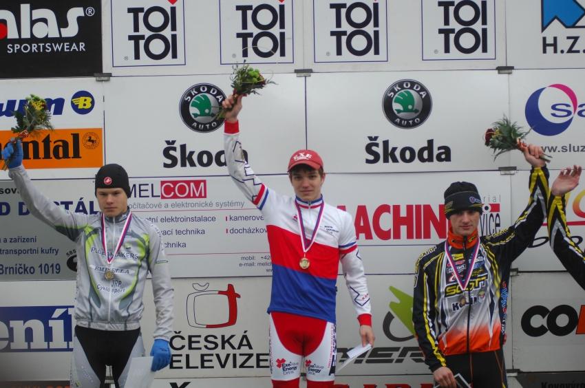 Toi Toi Cup - Uni�ov 2009: M�R junior� - 1. Nipl, 2. Polnick�, 3. Paprstka