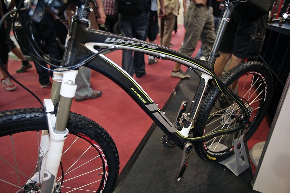 Whyte 2010 na Eurobike 2009