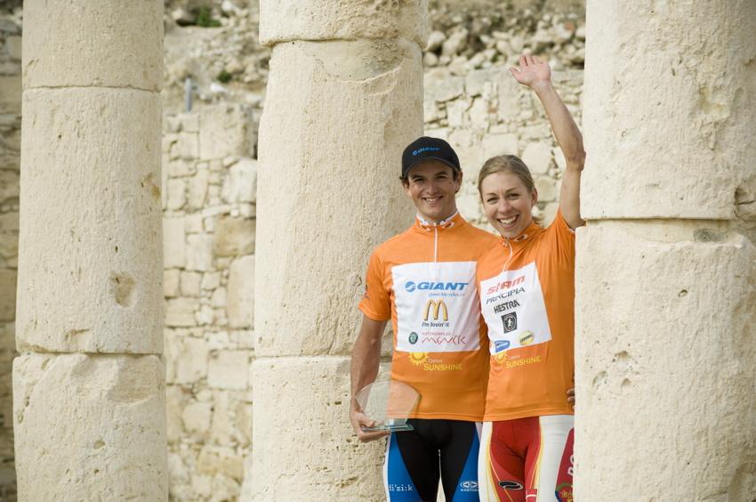 Sunshine Cup #3 2010 - Amathous, Kypr: celkový vítězové Jan Škarnitzl a Annika Langvad