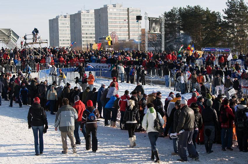 MS cyklokros Tábor 2010 - fanoušci, atmosféra...:
