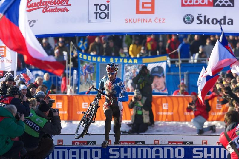 Mistrovství světa v cyklokrosu - Tábor 31.1. 2010, závod Elite - Štyby, Štyby, Štyby!