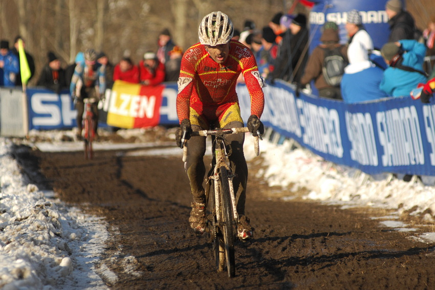 Mistrovství světa v cyklokrosu, Tábor 2010 - Elite: José Antonio Hermida