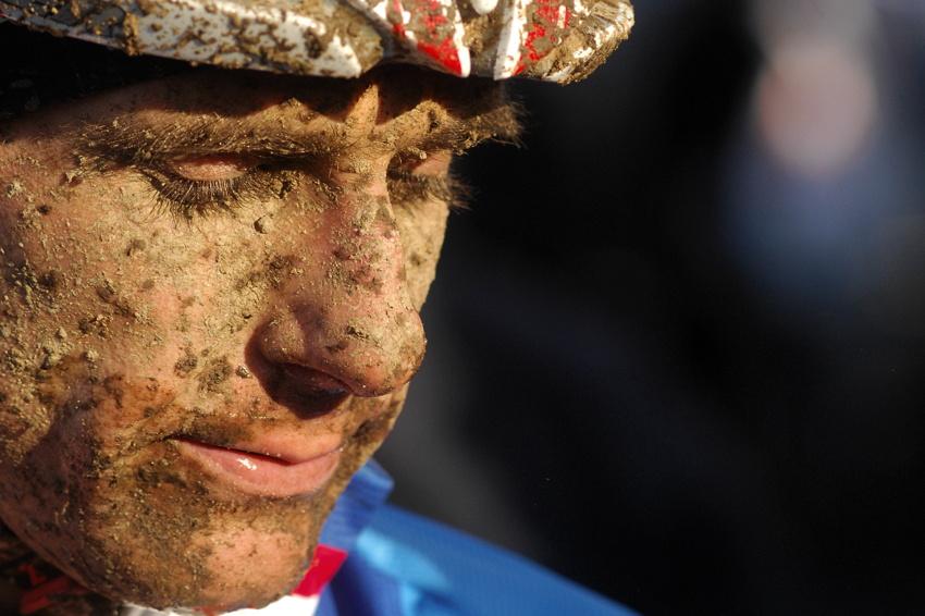 Mistrovství světa v cyklokrosu, Tábor 2010 - Elite: zklamaný Martin Bína