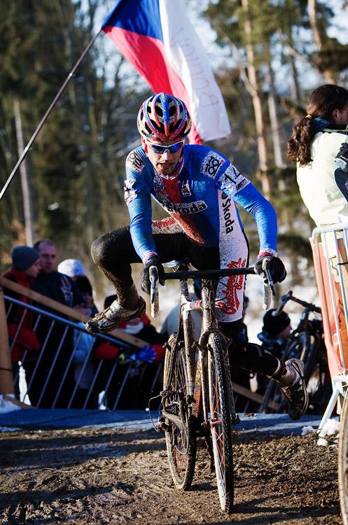 Mistrovstv� sv�ta v cyklokrosu, T�bor 2010 - Elite: Zden�k �tybar