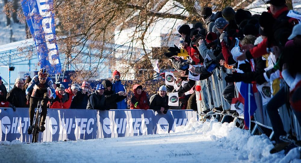Mistrovství světa v cyklokrosu, Tábor 2010 - Elite: a Zdeněk letí...