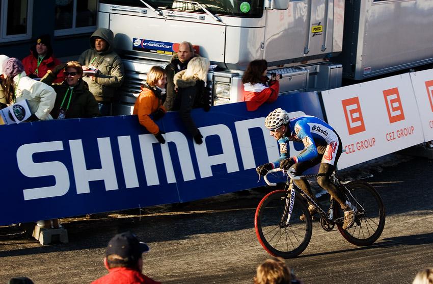 Mistrovství světa v cyklokrosu, Tábor 2010 - Elite: Martin Zlámalík předváděl také heroický výkon