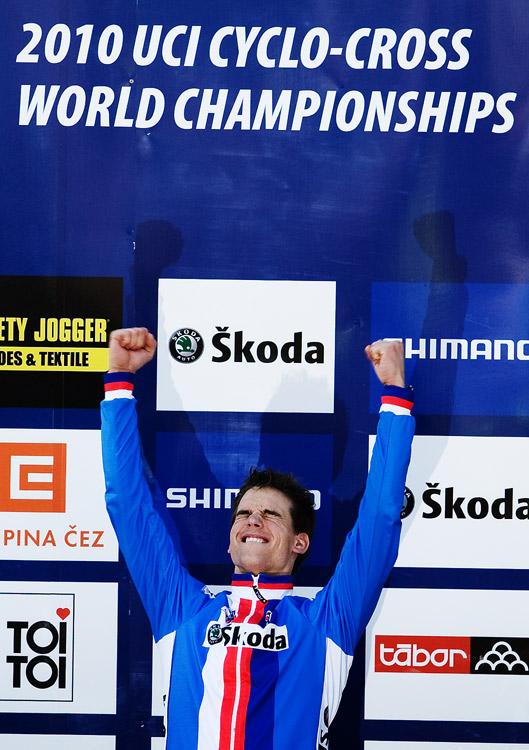 Mistrovství světa v cyklokrosu, Tábor 2010 - Elite: Zdeněk Štybar - WORLD CHAMPION!!!