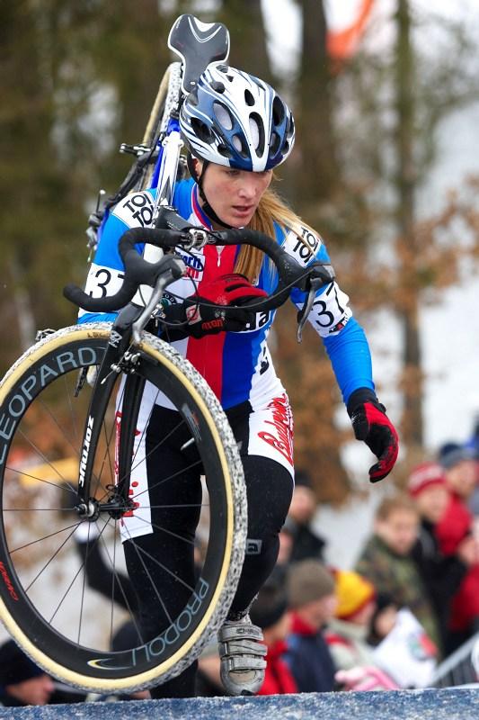 Mistrovství světa v cyklokrosu - Tábor 31.1. 2010 - závod žen - Jana Kyptová