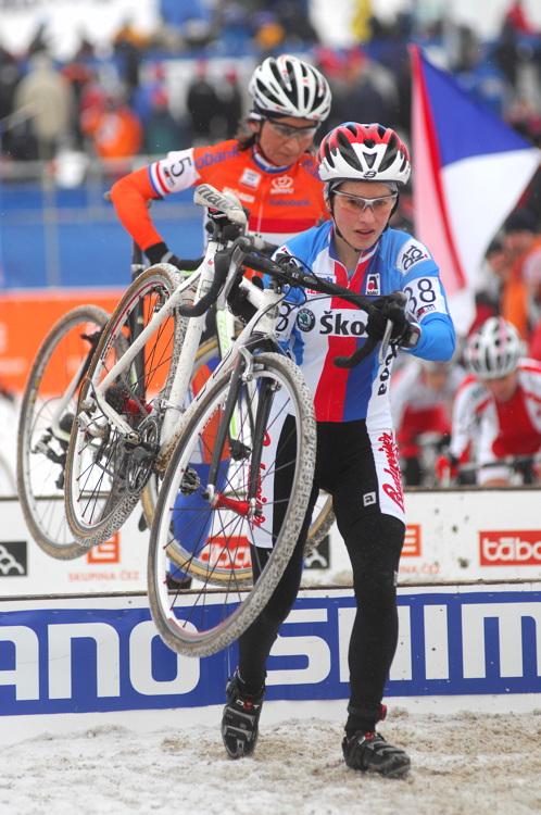 Mistrovství světa v cyklokrosu, Tábor 2010 - ženy: Zuzana Pirzkallová
