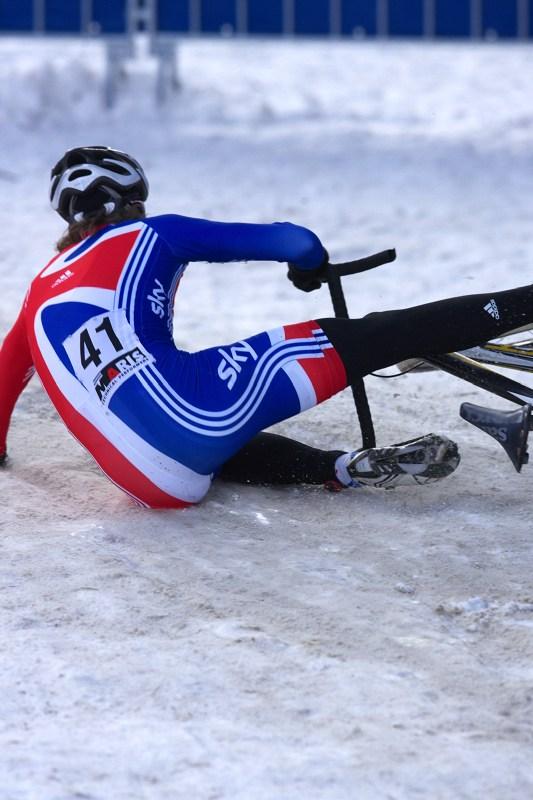 Mistrovství světa v cyklokrosu - Tábor 30.1. 2010 - kouzalo to fest