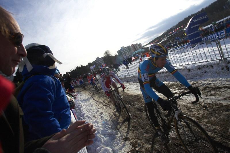 Mistrovství světa v cyklokrosu - Tábor 30.1. 2010 - Tom Meeusen