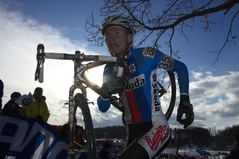 Mistrovství světa v cyklokrosu - Tábor 30.1. 2010 - Lubomír Petruš