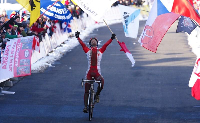 Mistrovství světa v cyklokrosu - Tábor 30.1. 2010 - Pawel Szczepaniak
