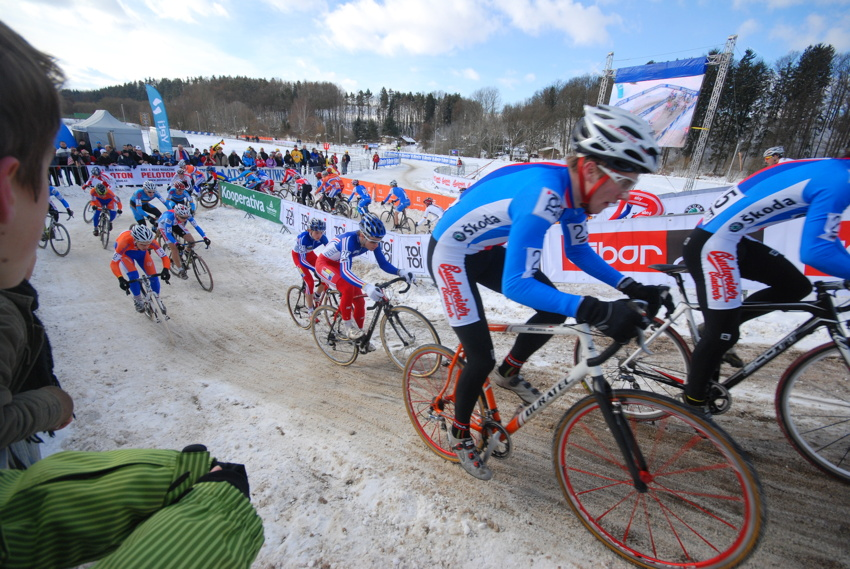 Mistrovství světa v cyklokrosu, Tábor 2010 - junioři & U23: Matěj Lasák