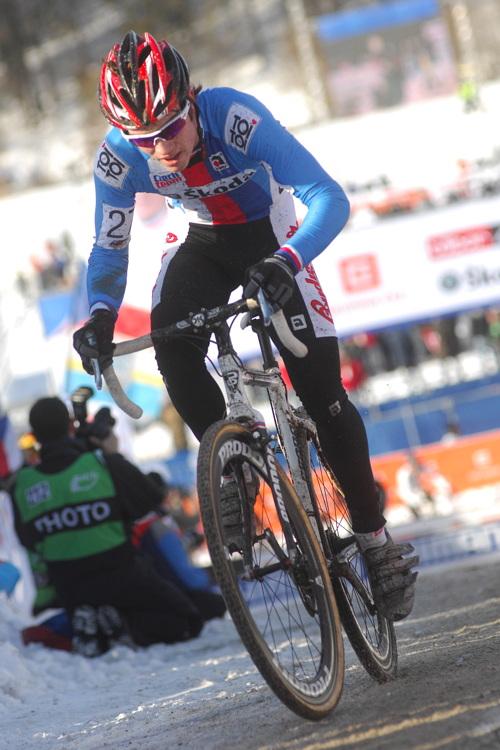 Mistrovství světa v cyklokrosu, Tábor 2010 - junioři & U23: Vojtěch Nipl