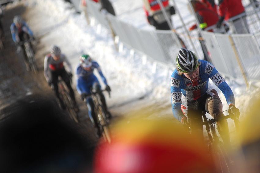 Mistrovství světa v cyklokrosu, Tábor 2010 - junioři & U23: Jan Nesvadba