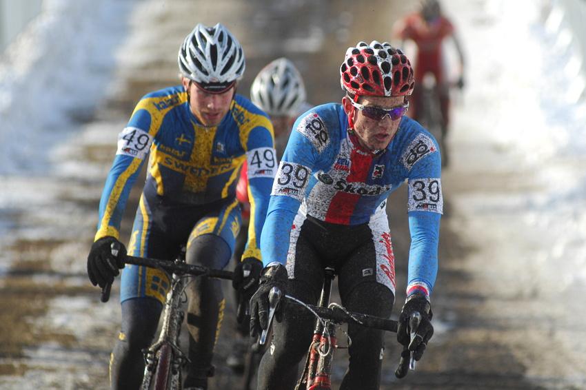 Mistrovství světa v cyklokrosu, Tábor 2010 - junioři & U23: David Menger