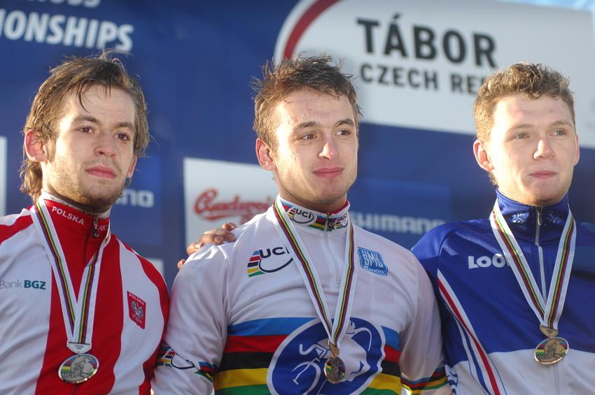 Mistrovství světa v cyklokrosu, Tábor 2010 - junioři & U23: