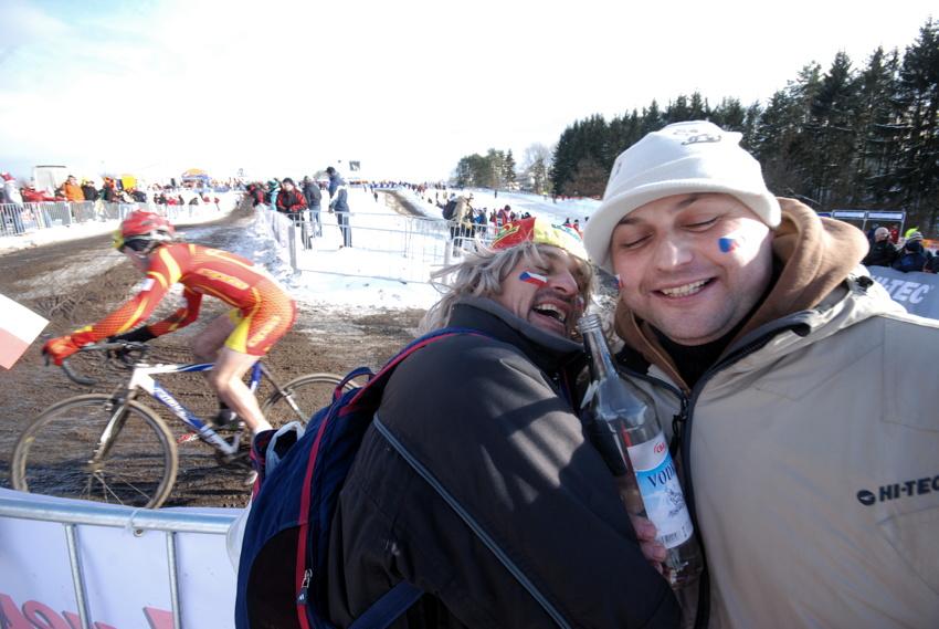 Mistrovství světa v cyklokrosu, Tábor 2010 - junioři & U23: tak jste tu klucí