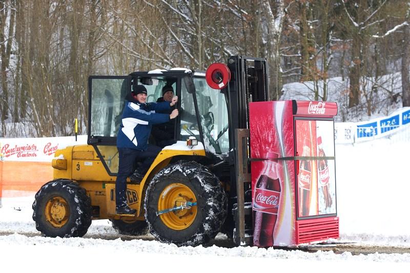 Cyklokrosové MS v Táboře 2010 - čtvrtek: Belgičané si dovezli i automaty na kukačky