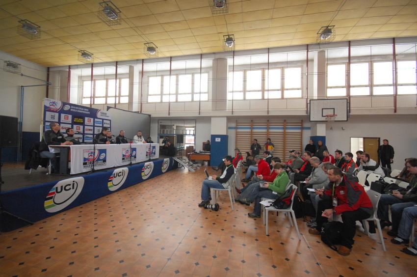 Cyklokrosové MS v Táboře 2010 - čtvrtek: tisková konference