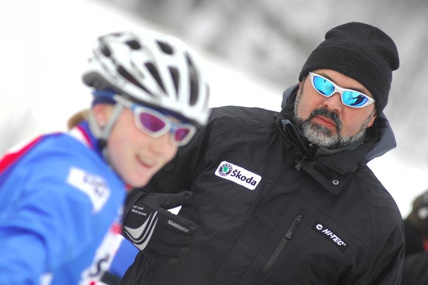 Cyklokrosové MS v Táboře 2010 - čtvrtek: trenér Milan Chrobák