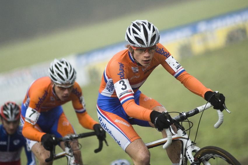 SP cyklokrosařů Hoogerheide 2010 - junioři & U23: David Van Der Poel