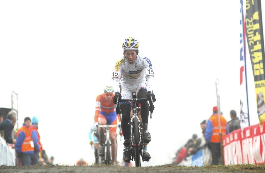 SP cyklokrosařů Hoogerheide 2010 - junioři & U23: Tom Meeusen