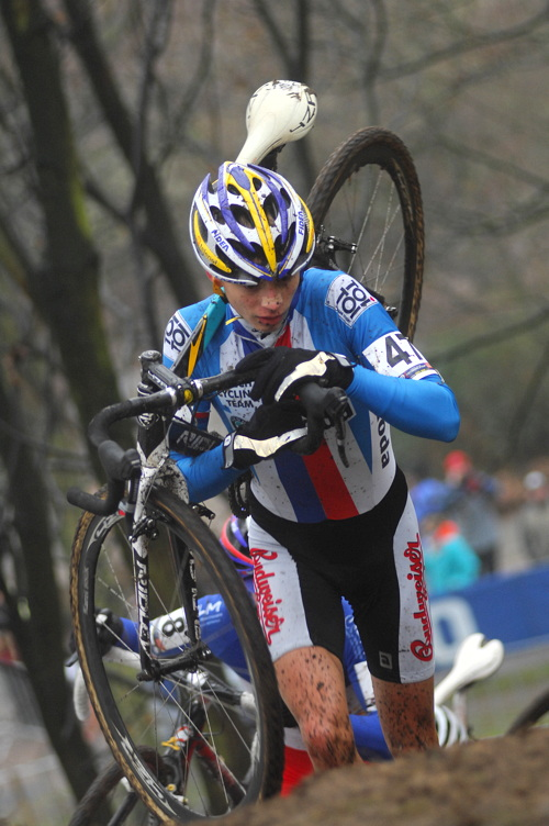 SP cyklokrosařů Hoogerheide 2010 - junioři & U23: Karel Hník