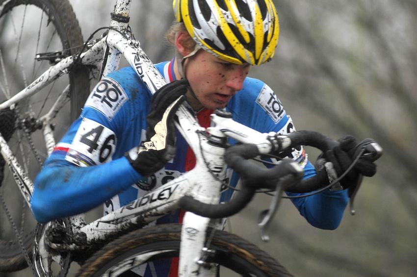 SP cyklokrosařů Hoogerheide 2010 - junioři & U23: Jiří Polnický