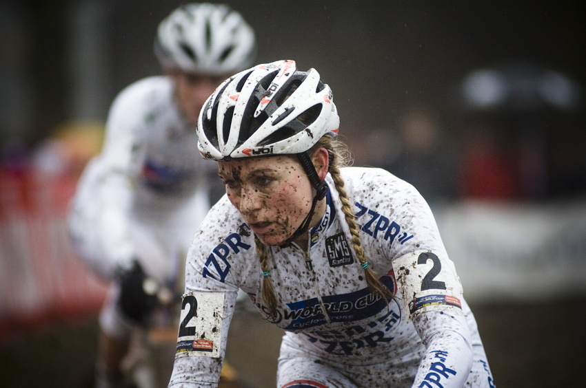 Světový pohár v cyklokrosu #9, Hoogerheide 2010: Daphny van den Brand