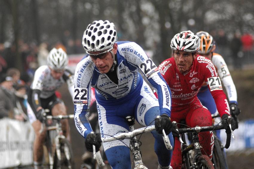 Světový pohár v cyklokrosu #9, Hoogerheide 2010: Martin Zlámalík a Martin Bína