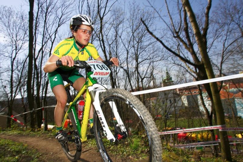 Zuzana Pirzkallová si vedle ve svém prvním závodě výborně