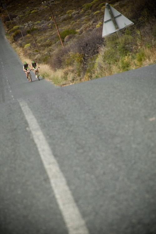 ABSA Cape Epic 2010 - 5. etapa: Jos� Antonio Hermida a Rudi van Houts