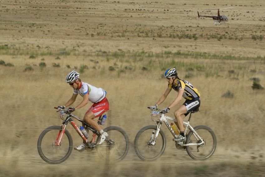 ABSA Cape Epic 2010 - 6. etapa: Burry Stander a Stefan Sahm