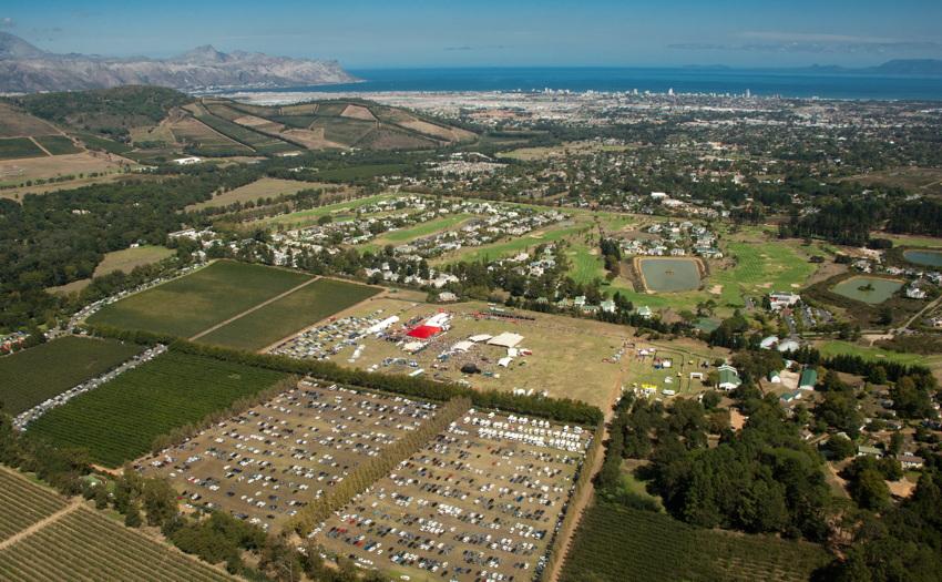 ABSA Cape Epic 2010 - 8. etapa: Lourensford