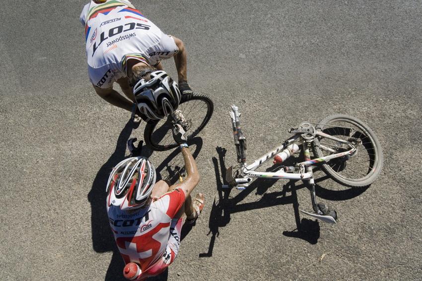 ABSA Cape Epic 2010 - 2. etapa: defekt týmu Swisspower