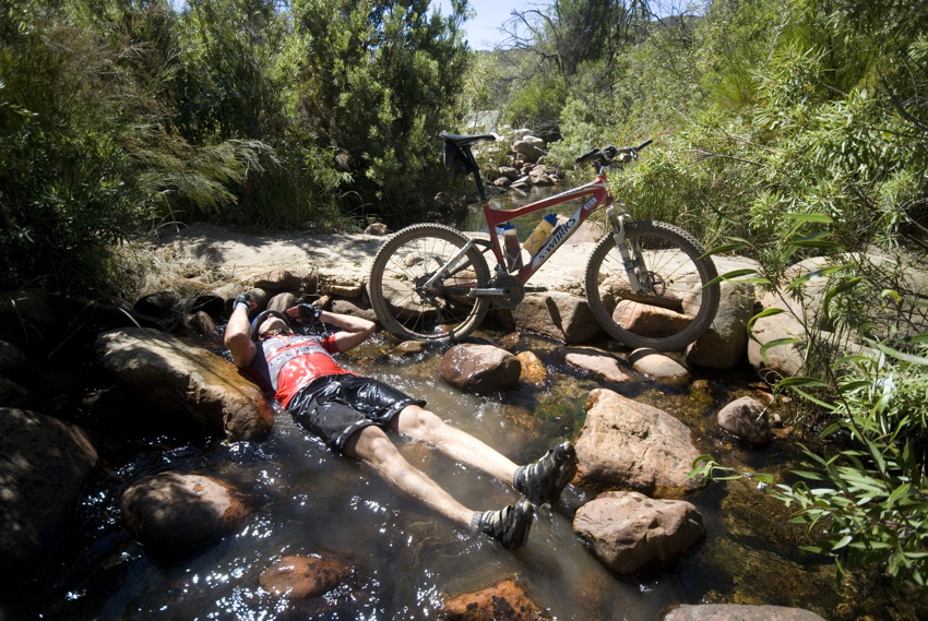 ABSA Cape Epic 2010 - 4.etapa: jedna z mála příležitostí k osvěžení